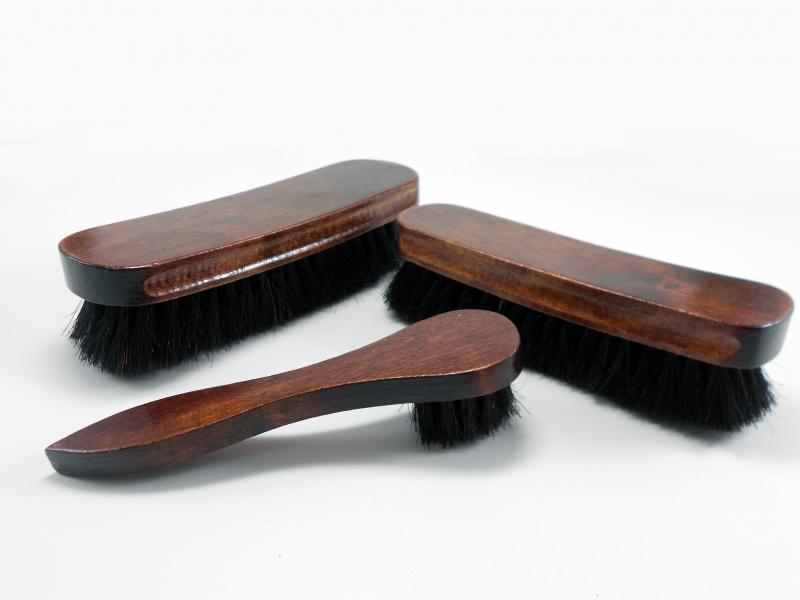 Curtidos bego cepillos para calzado - Cepillo de madera ...